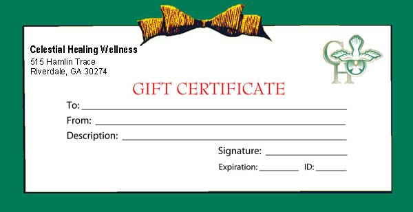 Purchase (3) One Hour Massage Gift Certificates and receive a (1) Hour ...